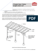 TABMA Technical Note 3 - Pergola Span Tables