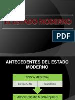 Estado Moderno - Maestria