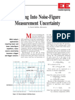 Noise Figure Measurement Uncertainty