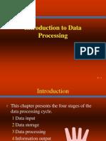 Data Processing Intro