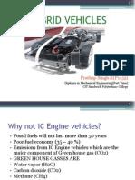 Hybrid Vehicles Prathap