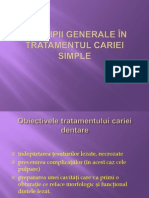 1.Principii Generale Tratament Carie Simpla