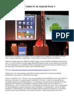 iPad vs las Muchas Tablet Pc de Android Parte 1