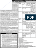 Career in Golf Development by Aashish Vaishnava in Employment News June 2013