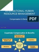 IHRM-Compensation & Benefits