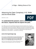 Advancing the Open Conspiracy