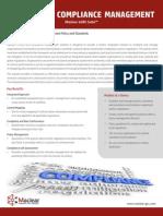 Maclear EGRC Suite Compliance Management