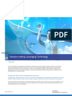 Decision Making Leveraging Technology