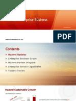 Huawei Enterprise Business Introduction