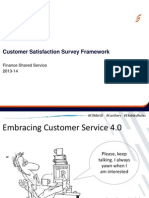 Customer Satisfaction Survey Framework Working Doc