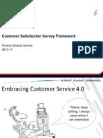 Customer Satisfaction Survey Framework Working Doc