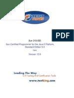 TestKing Java 310-055 v12 SCJP Java 2 Platform Std. Ed. 5.0