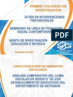 Presentacion Coloquio Nov 15 Sergio e Idalid
