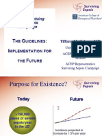 Sepsis PowerPoint Slide Presentation - The Guidelines_ Implementation for the Future
