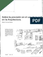 Sobre La Precisión en El Uso de La Luz en La Arquitectura