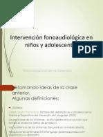 Intervención Fono Clase 2
