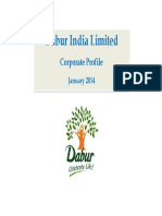 Dabur Corporate Profile Jan 14