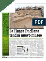 La Huaca Pucllana Tendrá Nuevo Museo