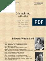 El Orientalismo, De Edward Said