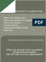 5023 Lect. Interpreneurial Leaders