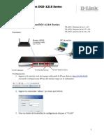 ES_DGS 1210_configurar Vlan Asimetrica