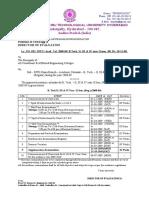 B. Tech II, III & IV Year  II SemAcademic Calendar final@21-01-09