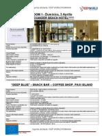 3 Aprilie Oferte Hoteluri Participante HS JobFair