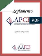 Reglamento APCFC 2012 Aprobado