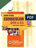 2014 15 Senior Curriculum Volume 1