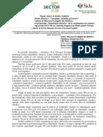 """Raport sumar al datelor studiului """"Schimbările climatice – Cunoştinţe, Atitudini şi Practici"""",  realizat de Mişcarea Ecologistă din Moldova,  pe parcursul implementării proiectului """"Schimbările climatice - de la conştientizare la acţiune"""", desfășurat în cadrul Programului SECTOR al Centrului Regional de Mediu pentru Europa Centrală și de Est, finanțat de către Guvernul Suediei."""
