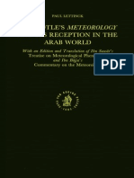 Paul Lettinck, Abū L-Ḵayr Ḥasan Ibn Suwār Ibn Al-Ḵammār, Ibn Bājja Aristotles Meteorology and Its Reception in the Arab World With an Edition and Translation of Ibn Suwārs Treatise On