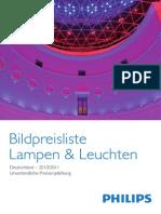 Catalogue Philips