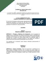 Acuerdo No. 7636-10 Evaluacion Jueces y Empleados Vigente