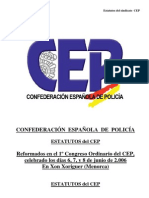 ESTATUTOS DEFINITIVOS CEP APROBADOS EN PRIMER CONGRESO