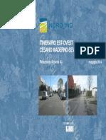 Sottopasso sud - ITINERARIO EST-OVEST  CESANO MADERNO-SEVESO Relazione completa
