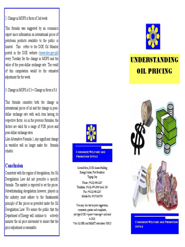 Understanding Oil Pricing MOPS | West Texas Intermediate | Petroleum