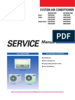 Samsung CAC (Ceiling Unit) Service Manual