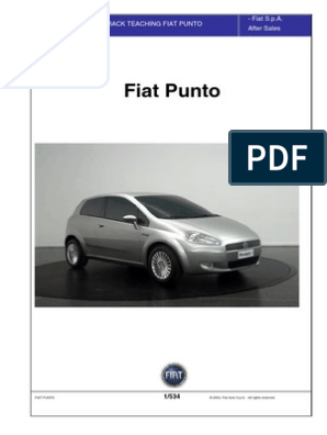 Fiat Grande Punto Service Manual_translated | Airbag