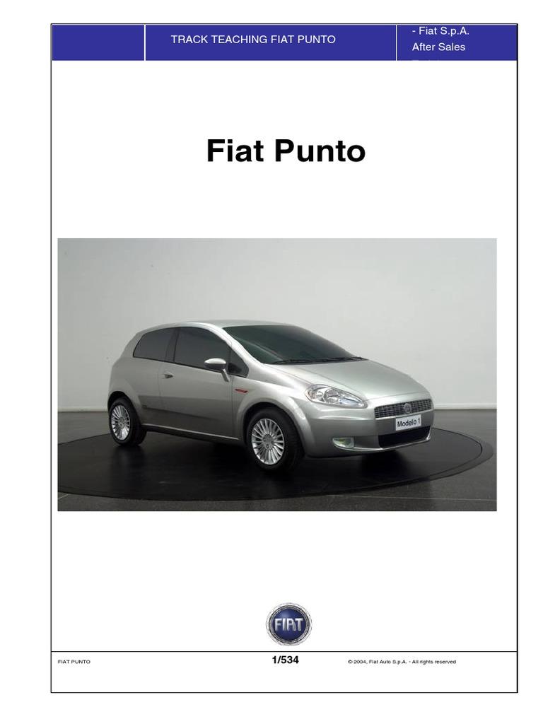Fiat Grande Punto Service Manual Translated Airbag 13k Views