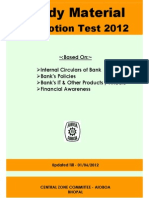Promotion Test Booklet 17june12 Final