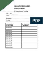 Ficha para Registro de uso tecnológico