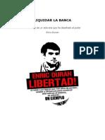 Enric Duran - Liquidar La Banca