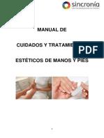 Cuidados y Tratamientos Estéticos de Manos y Pies