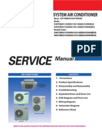 cassette air conditioner service manual
