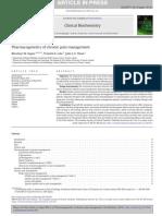 Kapur et al - Pharmacogenetics of chronic pain management - Clin Biochem, 2014