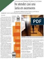 Bomberos y las emergencias en los ascensores