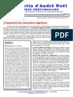 Bulletin Andre Noel 2383