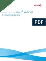 CentreWare Web CWW v5.0 EvaluationGuide English