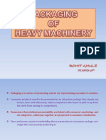 Packaging of Heavy Machinery