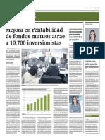 Mejora en Rentabilidad de Fondos Mutuos Atrae a 10,700 Inversionistas_Gestión 1-07-2014